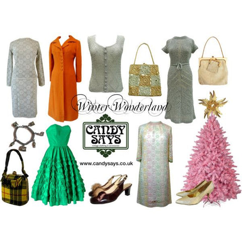 Winter Wonderland at Candy Says Vintage Clothing