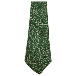 Scroll print 1950s vintage necktie - Vintage Clothing, Vintage Stock, Vintage Dresses, Vintage Shoes UK