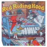 Red Riding Hood fairytale print unworn 1970s kids jumper - Vintage Clothing, Vintage Stock, Vintage Dresses, Vintage Shoes UK