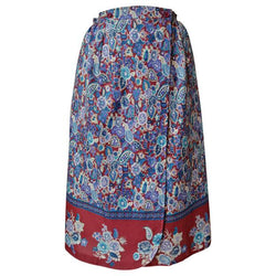 Floral paisley 1970s vintage wrap skirt - Vintage Clothing, Vintage Stock, Vintage Dresses, Vintage Shoes UK