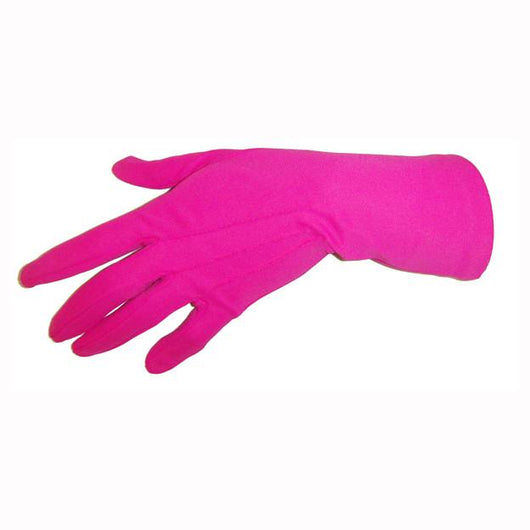 Fuchsia pink unworn vintage Dents wrist length gloves - Vintage Clothing, Vintage Stock, Vintage Dresses, Vintage Shoes UK