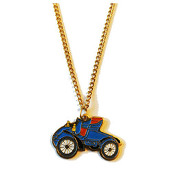 Vintage motor car 1980s pendant necklace - Vintage Clothing, Vintage Stock, Vintage Dresses, Vintage Shoes UK
