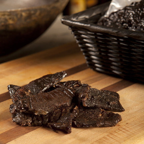 TED'S <br> BEEF JERKY
