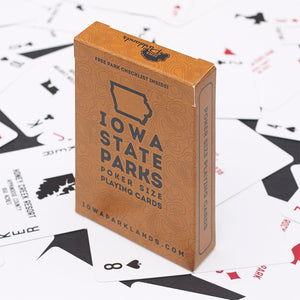 Iowa State Parks Playing Cards