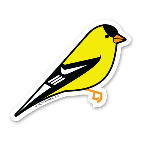 American Goldfinch Sticker