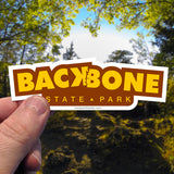 Backbone State Park Sticker