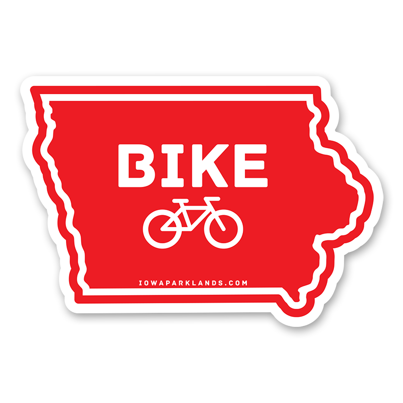 Iowa State Bike Sticker