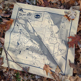 Jester County Park Trail Map Bandanna