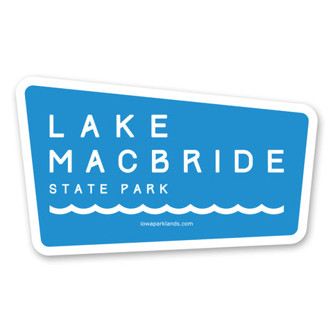 Lake MacBride State Park Sticker