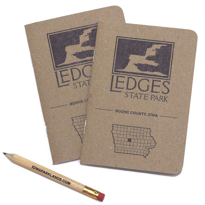 Ledges State Park Pocket Notebooks