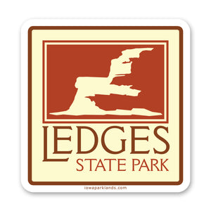 Ledges State Park Sticker