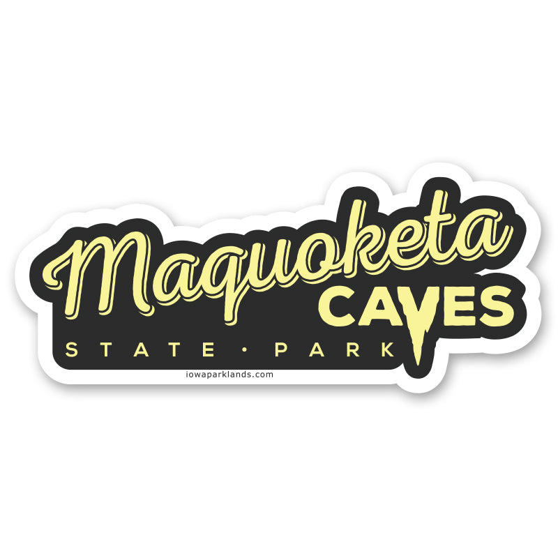 Maquoketa Caves State Park Sticker