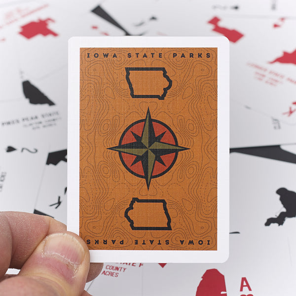 Iowa State Park Playing Cards