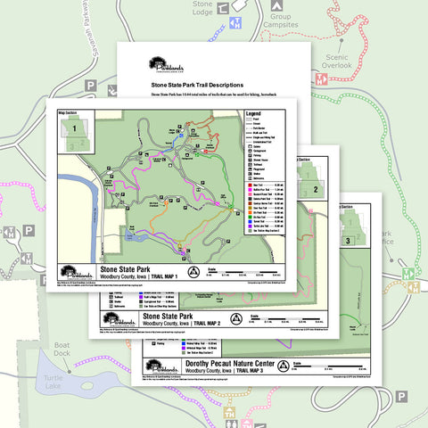 Stone State Park Trail Map Printable Download