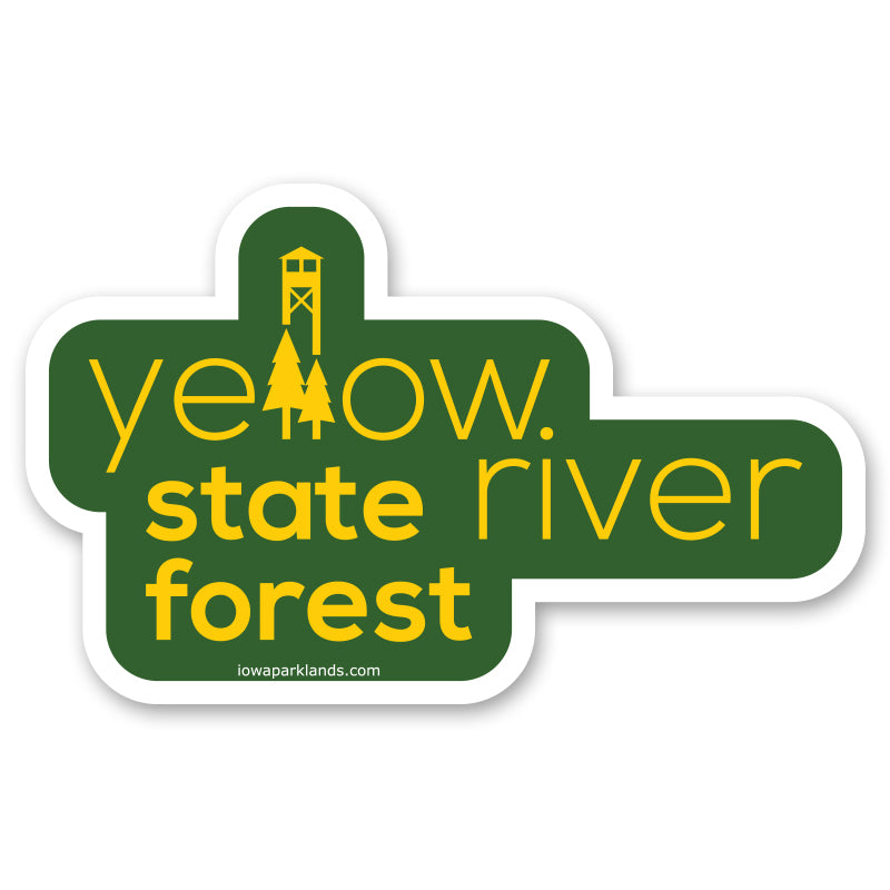 Yellow River State Forest Sticker