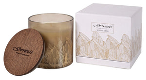 WOOD SAGE ROUND SMALL CANDLE - GEN012