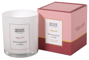 Wild Rhubarb & Rosehip Candle - MBC01