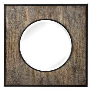 Archibald Square Mirror (R09568)Please see below for shipping details*