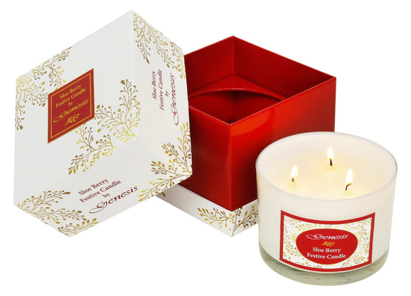 Sloe Berry Festive Candle - SS009