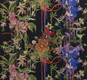 Christian Lacroix Orchids Fantasia Craft Fabric