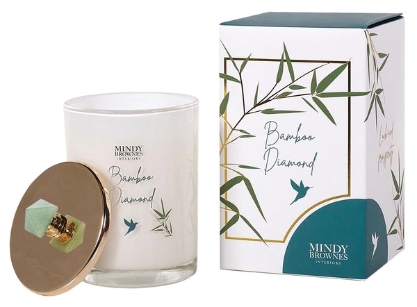 Bamboo Diamond Scented Candle - ZEN02