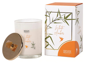 White Amber Scented Candle - ZEN05