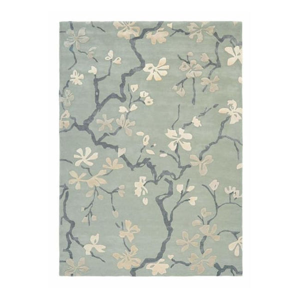 Anthea China Blue Rug From Sanderson - Rug - Rugs