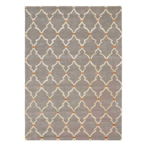 Empire Trellis Grey - Sanderson Rug - Large - Rugs