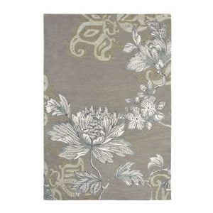 Fabled Floral Grey Rug - Wedgwood Rugs - (Large 200 X 280Cm) - Rugs