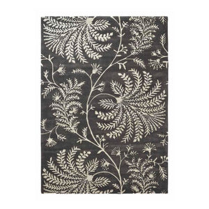Mapperton Charcoal - Sanderson Rug - Large - Rugs