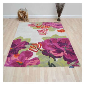 Mid Summer Rose Sanderson Rug - Large - Rugs