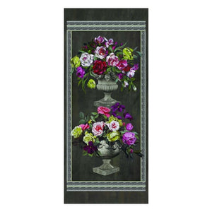 Ornamental Garden Panel Print - Wallpaper
