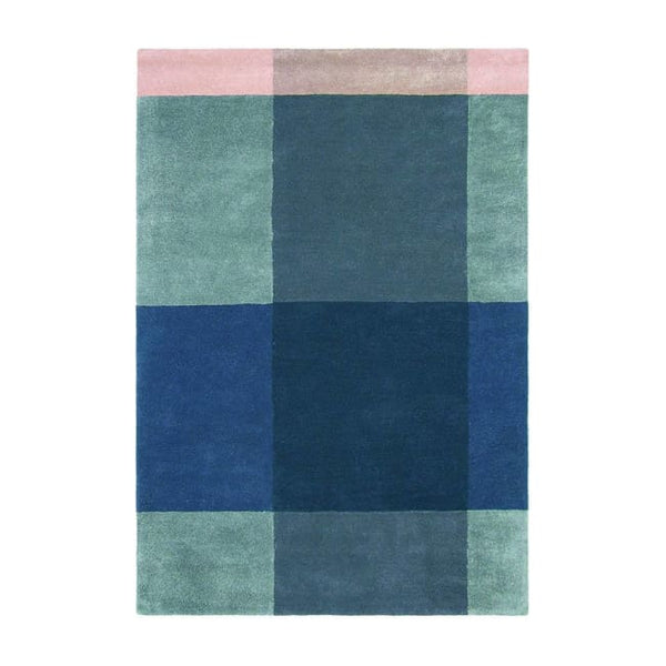 Plaid Grey Rug - Ted Baker (Large 200 X 280Cm) - Rugs