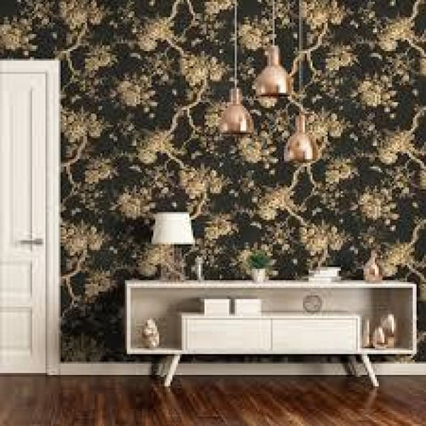 Ralph Lauren Ashfield Floral Wallpaper - Wallpaper