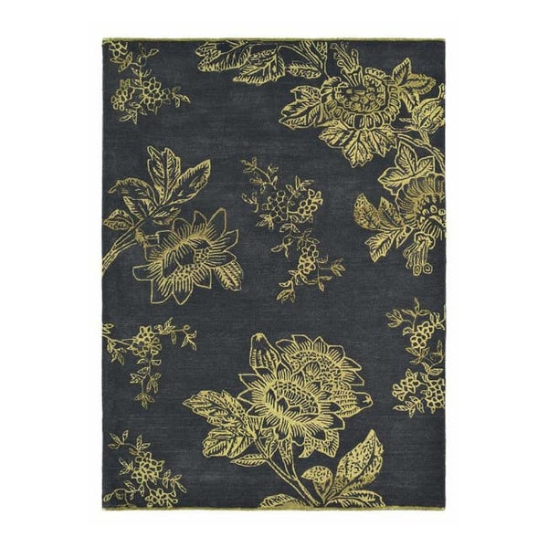 Tonquin Charcoal Rug - Wedgwood Rugs (Large 200 X 280Cm) - Rugs