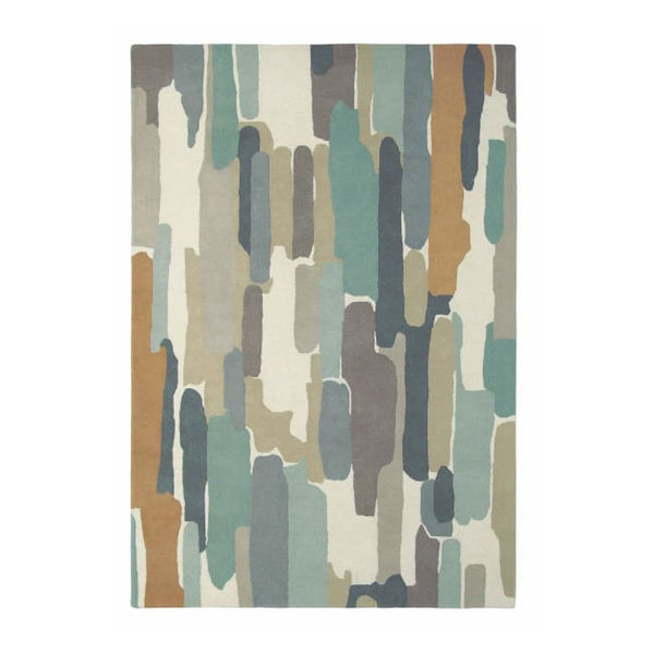 Trattino Seaglass Rug - Harlequin (Large 200 X 280Cm) - Rugs