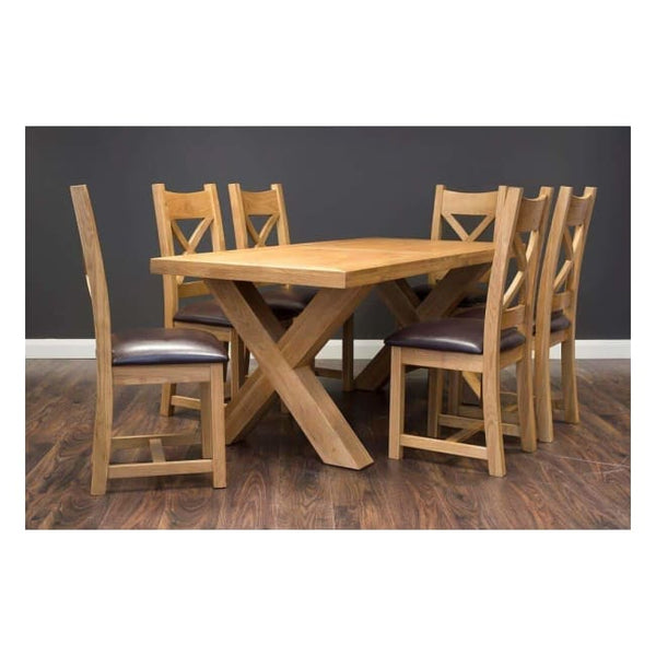 X Dining Table 1.8M - Furniture