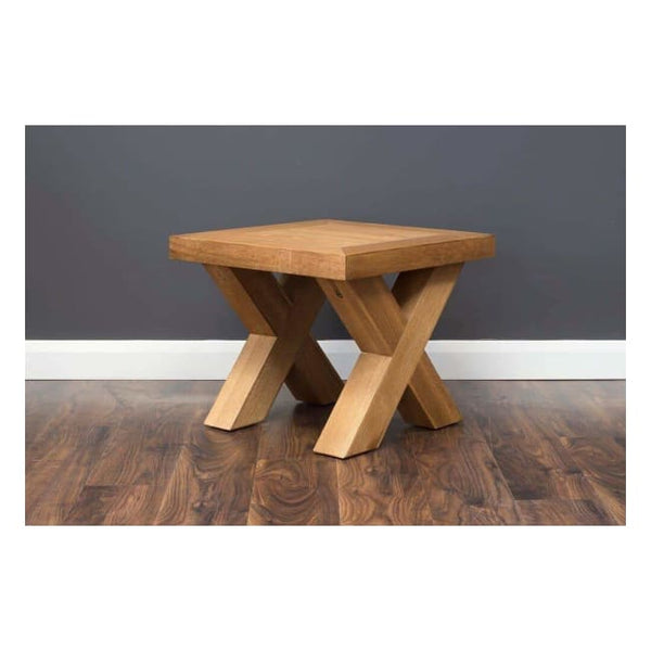 X Lamp Table - Furniture