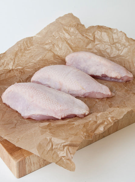 Chicken Breasts (Skin on) x 2