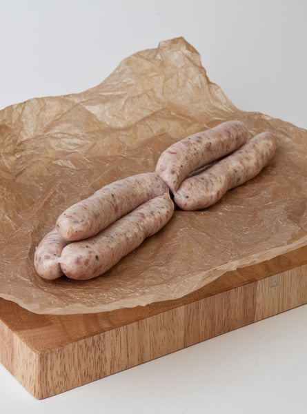 Thin Lincolnshire Sausages