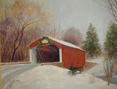 PINE VALLEY COVERED BRIDGE - 10 NOTE CARD PACK