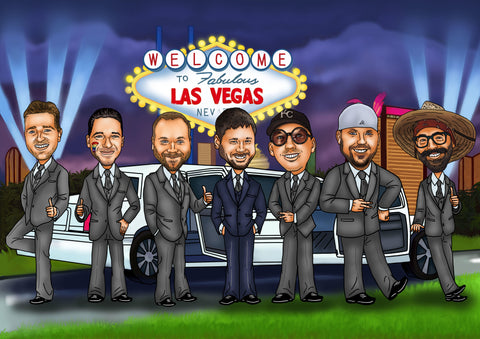 The Guide to the Ultimate Bachelor Party in Las Vegas - Groovy ...