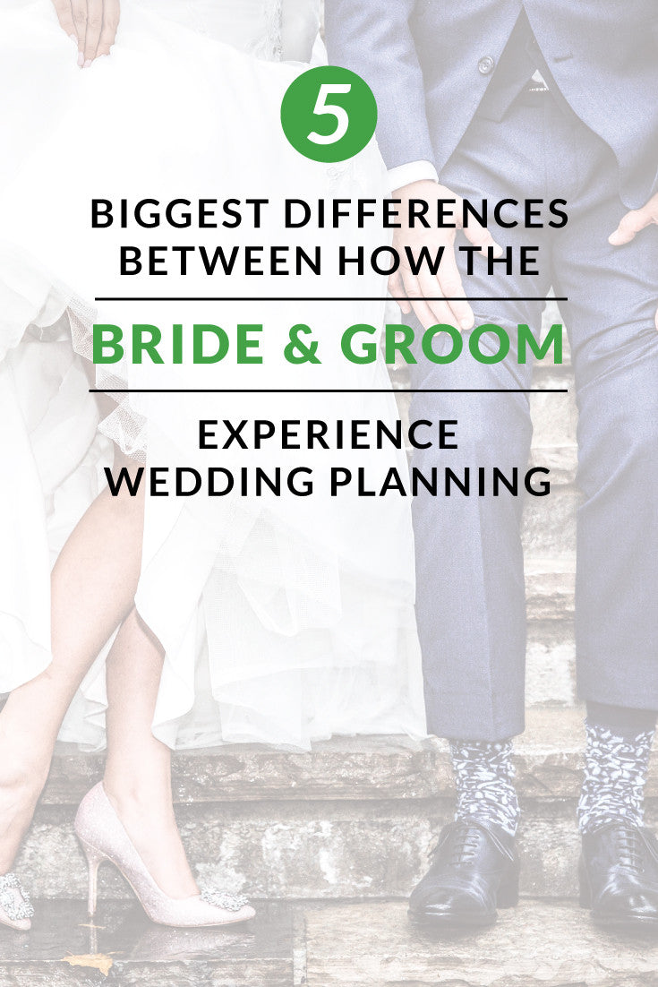 Bride and Groom Differences
