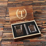 Ash trey Cigar holder flask