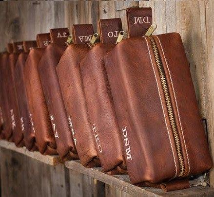 Groomsmen Gift Toiletry Bags
