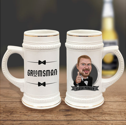 Creative Groomsmen Gifts - The Einstein