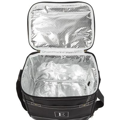 Personalized Black Travel Cooler