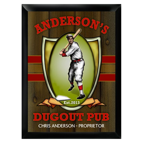 Bar - Dugout Pub Sign