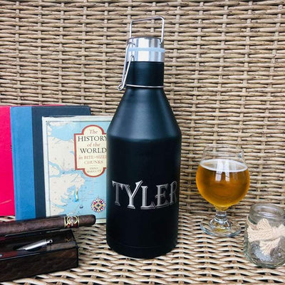 32 Oz Metal Beer Growler