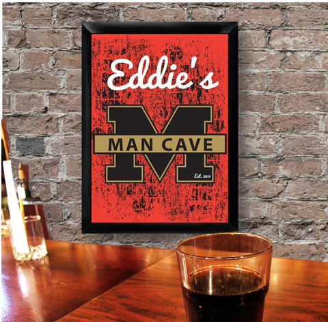 Bar - Stadium Man Cave Tavern Sign